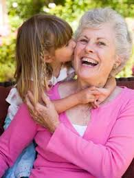 filhos com os avós